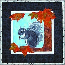 SHAN-101 - **DINING OUT 101 20.5 X 20.5 SQUIRREL WALL HANGING