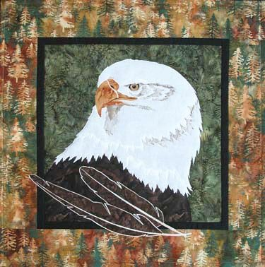 SHAN-104 - SPIRIT EAGLE BY SHANIA SUNGA DESIGNS