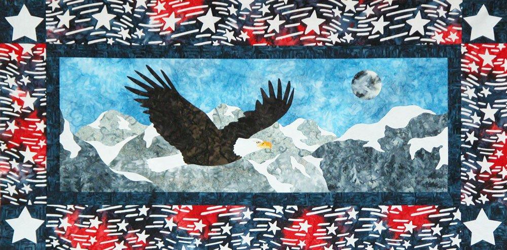 SHAN-127 - FREEDOM U.S.A. PATTERN BY SHANIA SUNGA DESIGNS