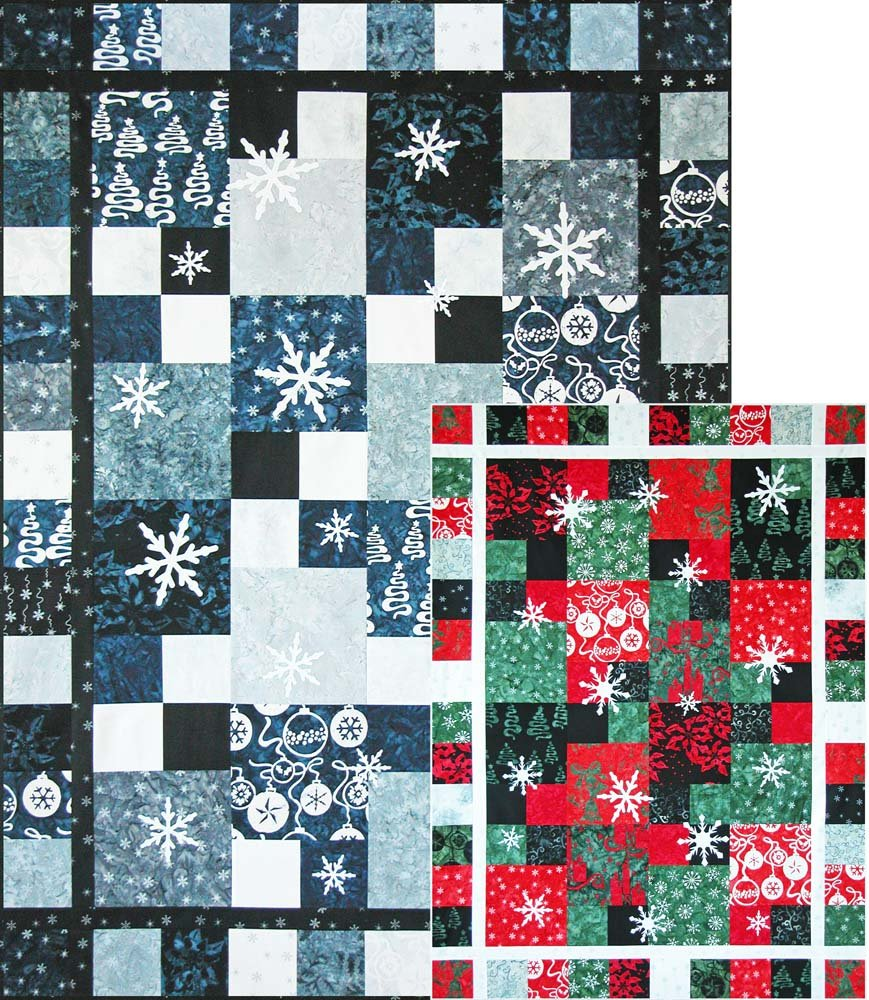 SHAN-134 - LET IT SNOW PATTERN BY SHANIA SUNGA DESIGNS