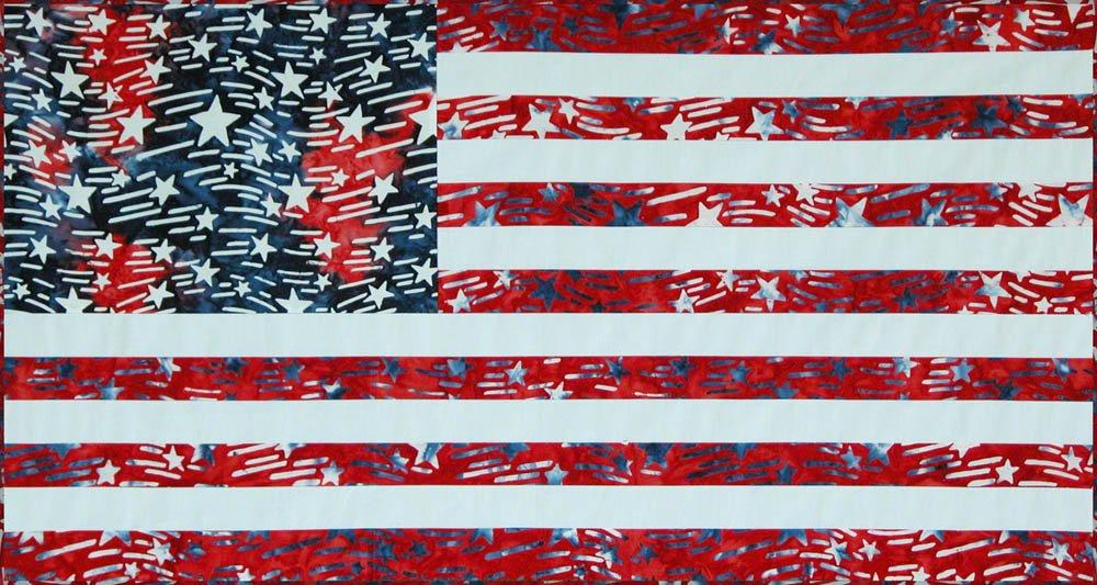 SHAN-FP004 - LIBERTY BY SHANIA SUNGA DESIGNS US FLAG FREE PATTERN