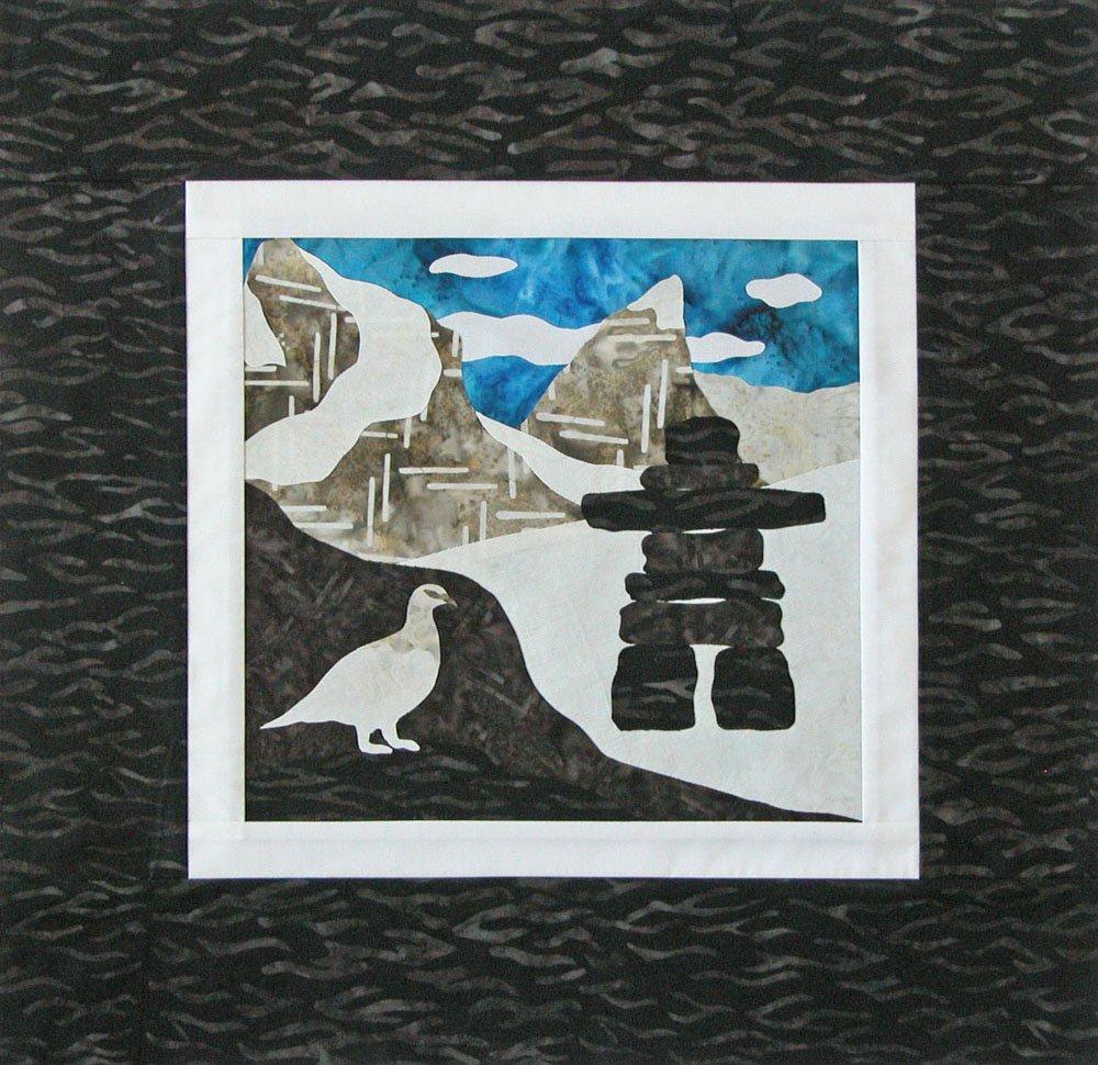 SHAN-K124 NU - NUNAVUT KIT BY SHANIA SUNGA WALL HANGING KIT