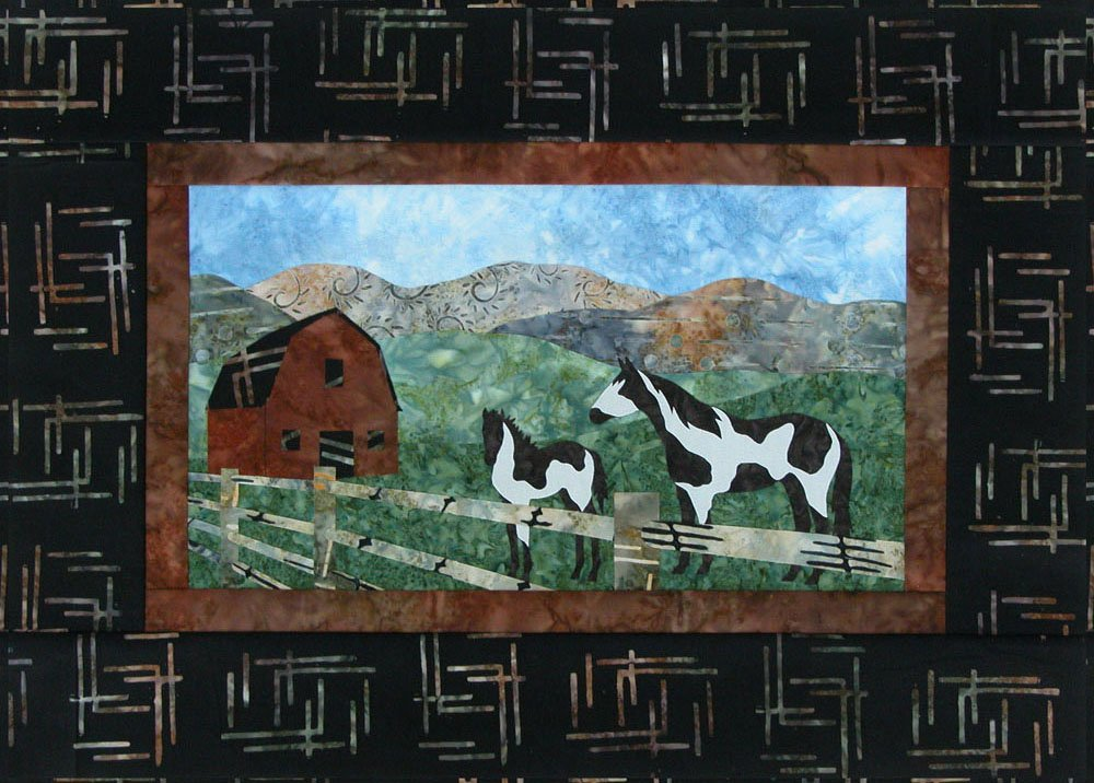 SHAN-K125 BSC - BIG SKY COUNTRY KIT BY SHANIA SUNGA WALL HANGING KIT