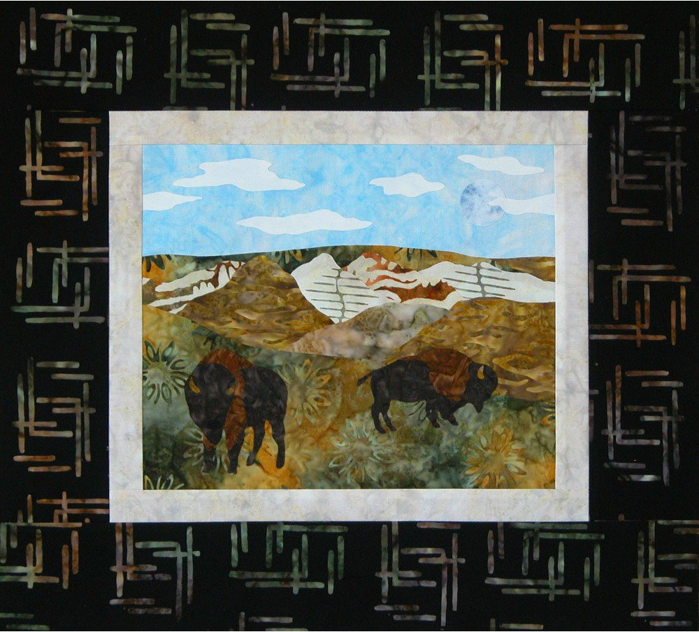 SHAN-K125 GP - GREAT PLAINS KIT BY SHANIA SUNGA WALL HANGING KIT