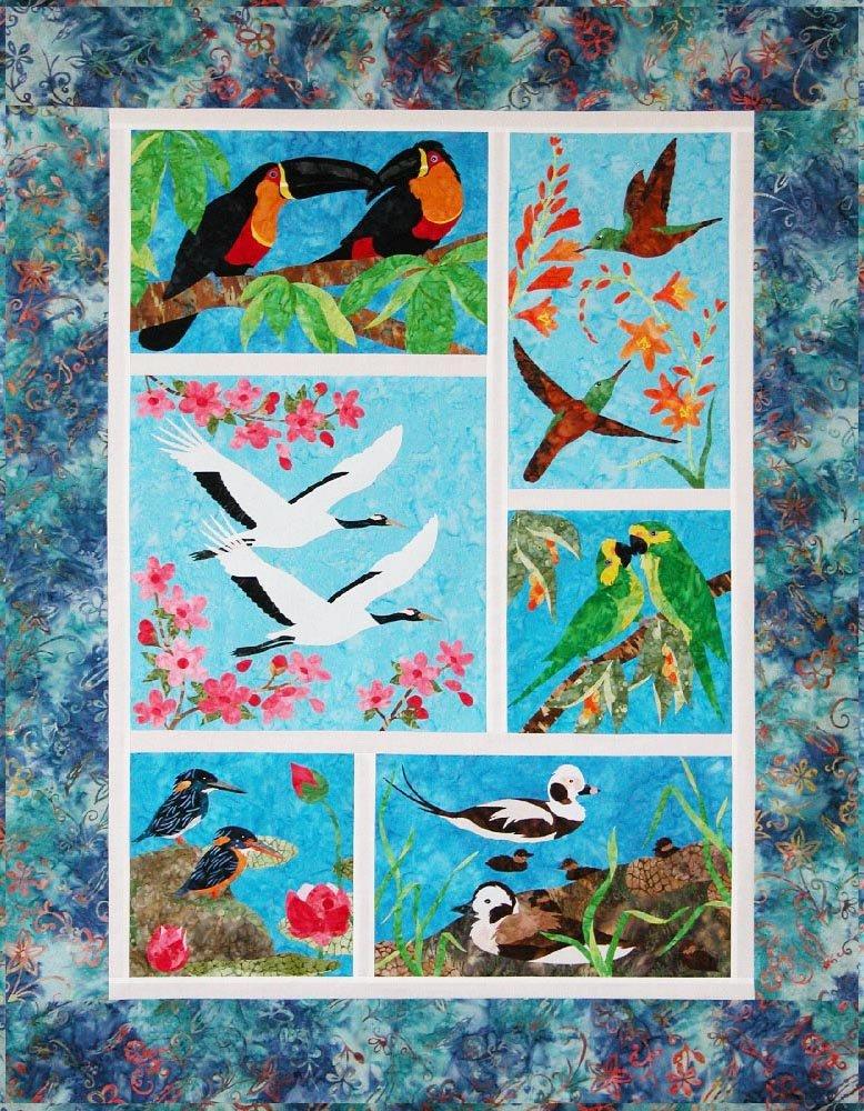 SHAN-K136 - ENDANGERED BIRDS FULL KIT BY SHANIA SUNGA