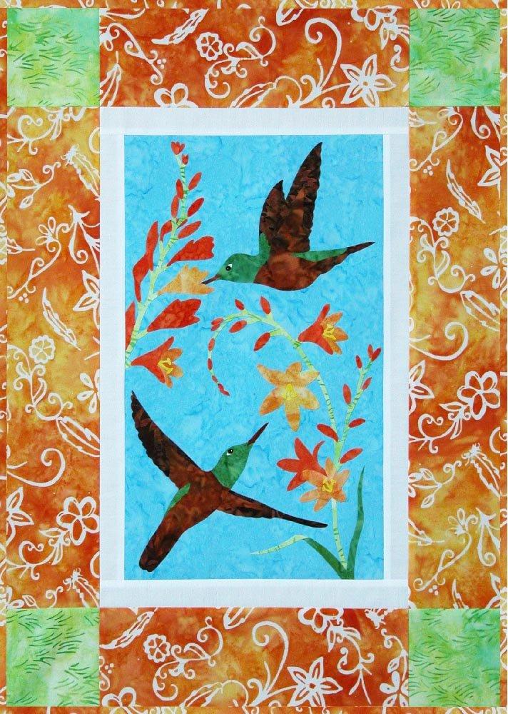 SHAN-K138 - CHESTNUT-BELLIED KIT HUMMINGBIRD BY SHANIA SUNGA