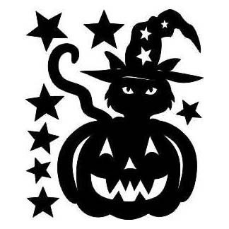 TRICK OR TREAT LASER CUT APPLIQUES BY SHANIA SUNGA 1/PKG 7X8.75