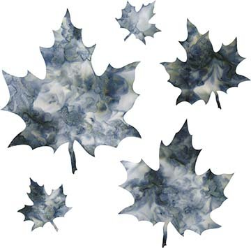 SHAN-LC036 05 - MAPLE LEAVES LASER CUT BY SHANIA SUNGA 2 to 7 GREY