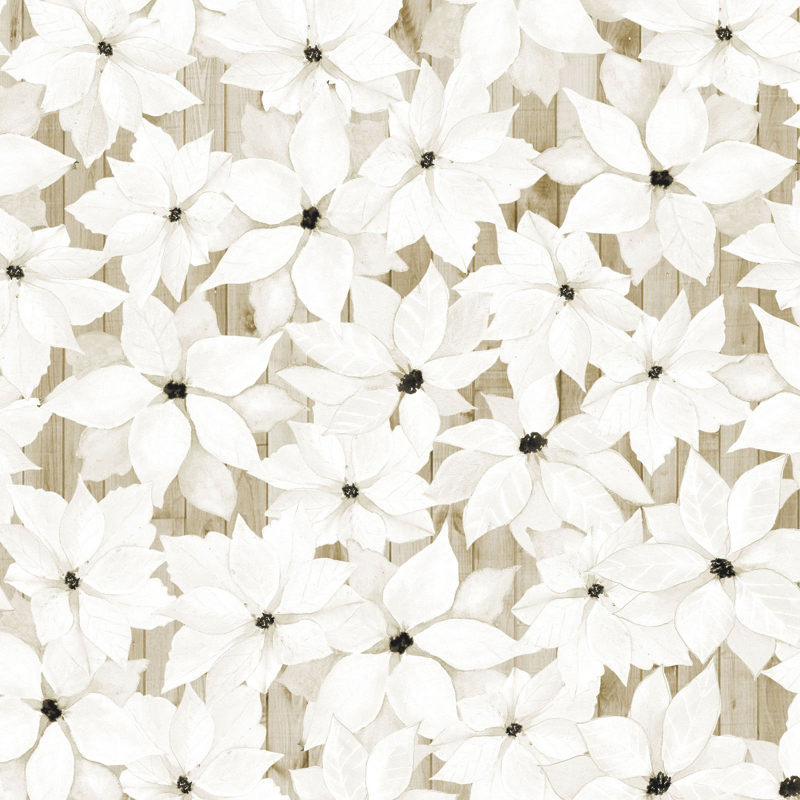 SOPC-4420 NE- SOPHISTICATED CHRISTMAS BY GRACE POPP FLOWERS NEUTRAL - ARRIVING IN MAY 2021