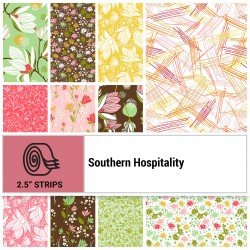 SOUH-10X10 - SOUTHERN HOSPITALITY 10 SQUARES BY P&B BOUTIQUE 42PCS - ARRIVING IN MAY 2021