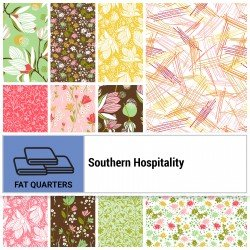 SOUH-18X22 - SOUTHERN HOSPITALITY FAT QUARTER BUNDLE BY P&B BOUTIQUE 11PCS - ARRIVING IN MAY 2021