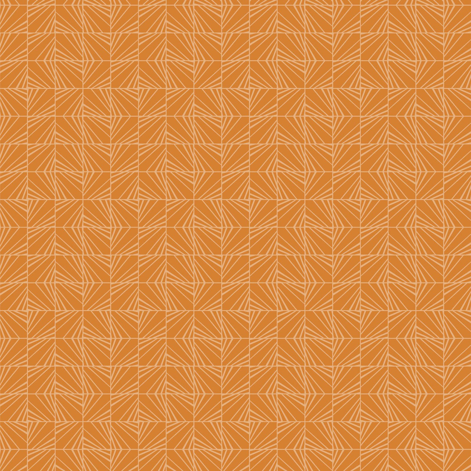 WHIM-4406 O - WHIMSY BY HANG TIGHT STUDIO FACETS ORANGE