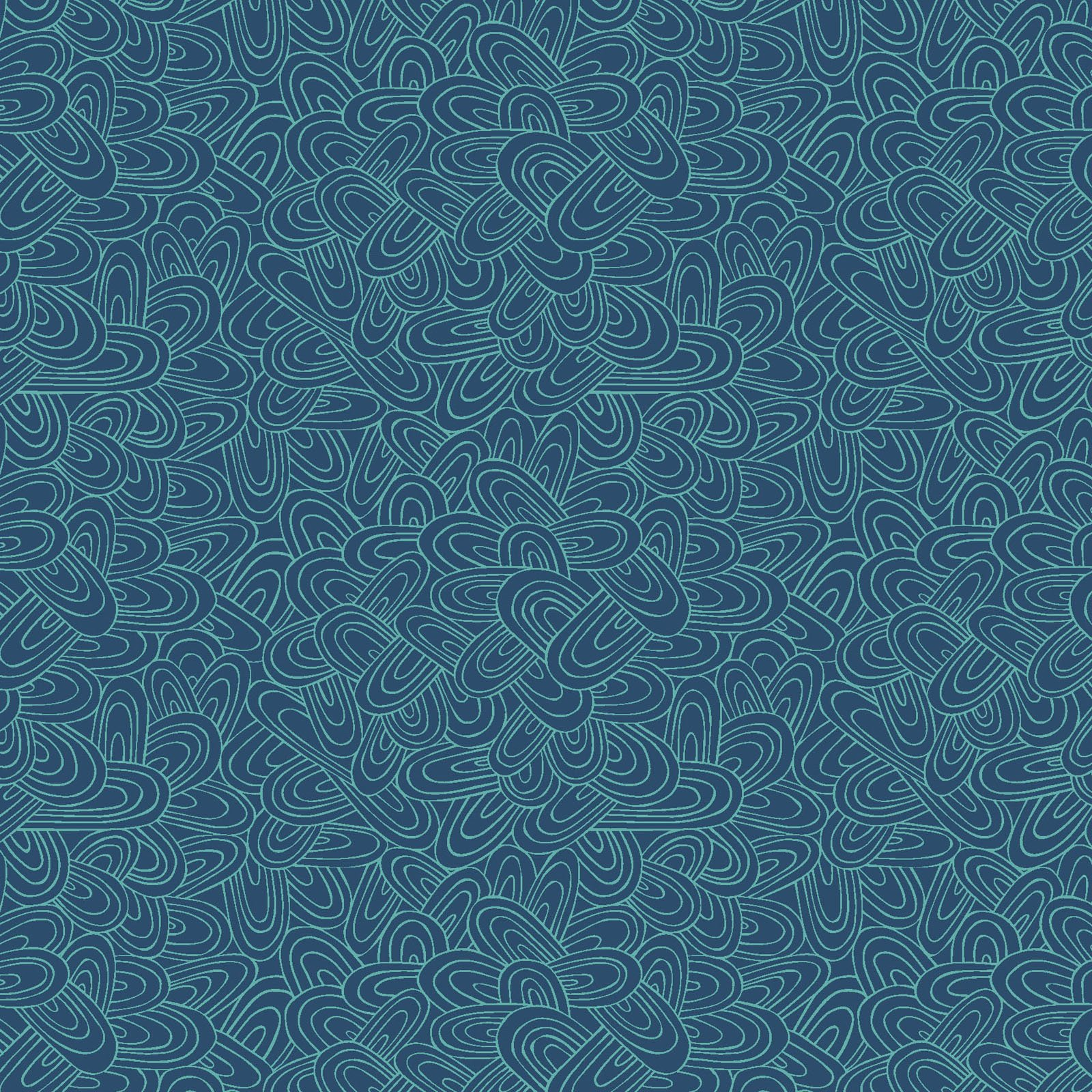WHIM-4412 DT - WHIMSY BY HANG TIGHT STUDIO JUST SWELL DKTEAL
