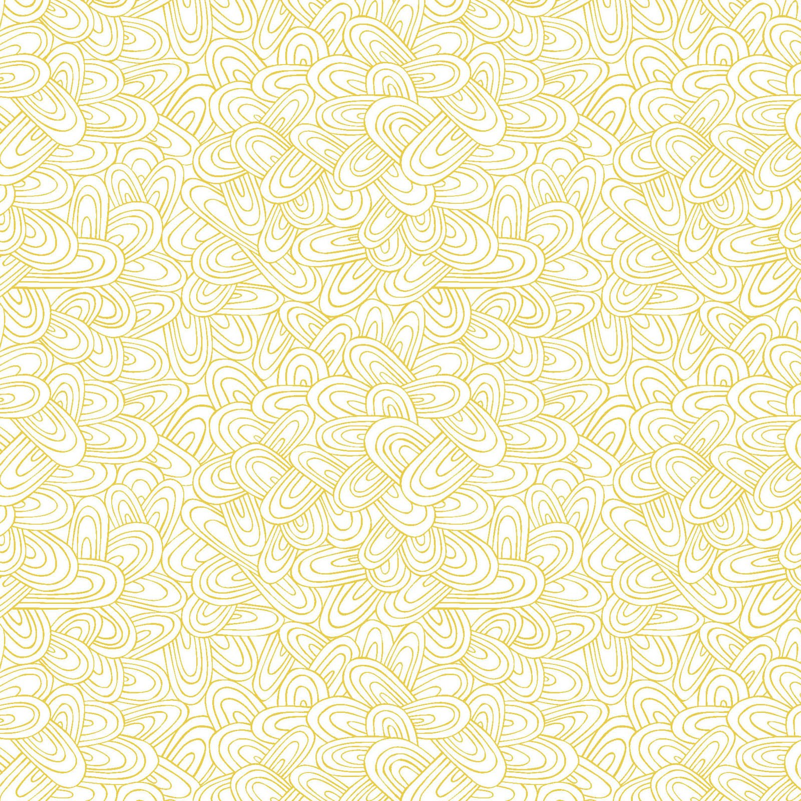 WHIM-4412 Y - WHIMSY BY HANG TIGHT STUDIO JUST SWELL YELLOW