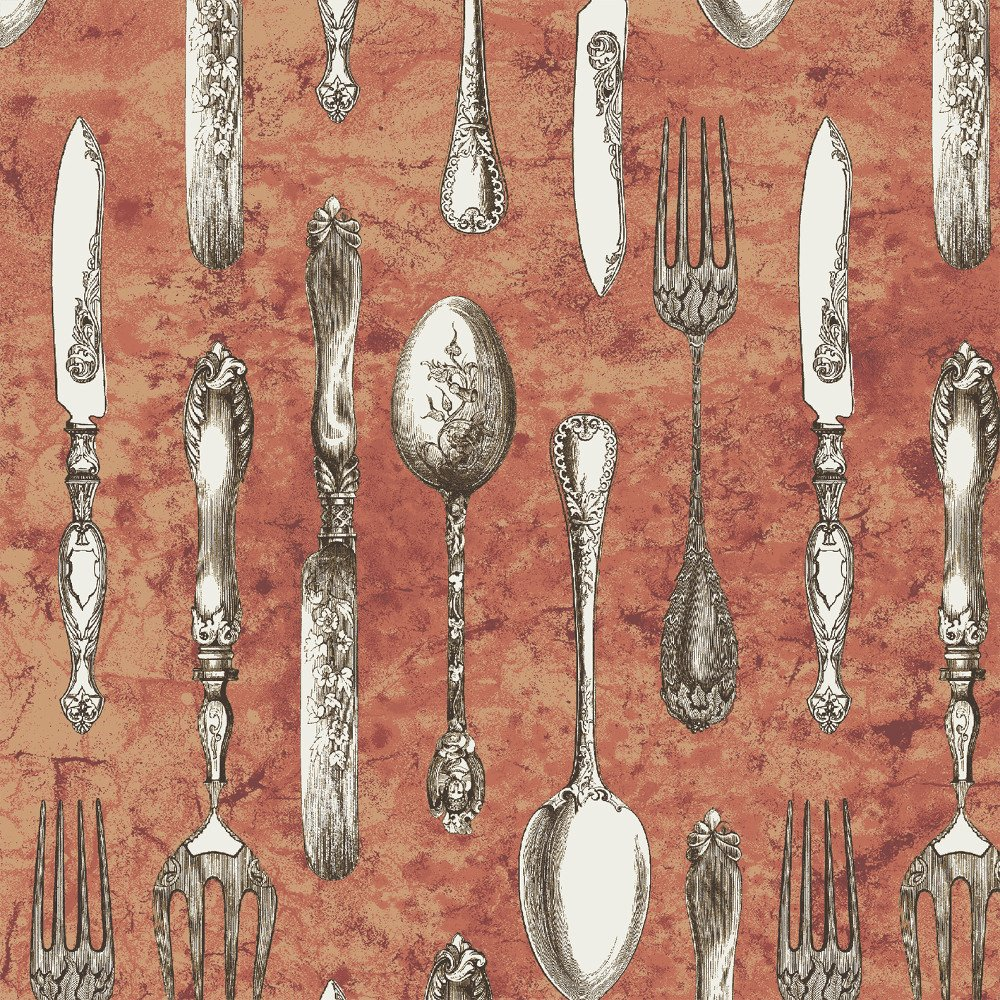 WIND-42826 4 - #AFTERNOON TEA BY WHISTLER STUDIOS CUTLERY ROSE