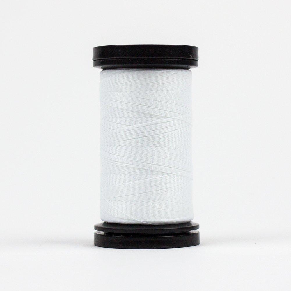 WOND-AR01 - AHRORA 40WT 100% POLYGLOW IN THE DARK THREAD 200YDS WHITE