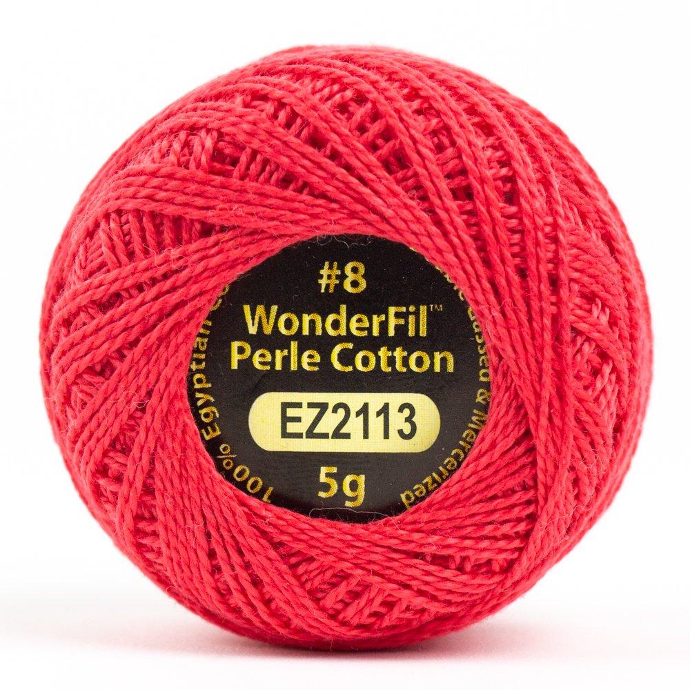 WOND-EL5G 2113 - ALISON GLASS ELEGANZA #8 PERLE 2PLY-100%COT SM 5G MARMALADE