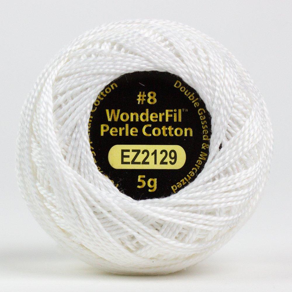 WOND-EL5G 2129 - ALISON GLASS ELEGANZA #8 PERLE 2PLY-100%COT SM 5G DAISY