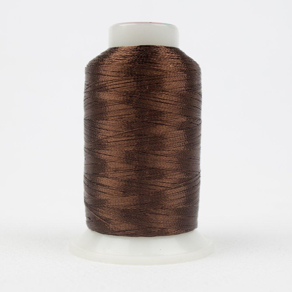 WOND-MT8839 - SPOTLITE 40WT RAYON CORE METALLIC NUTTY BROWN