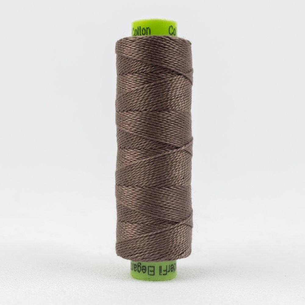 WOND-SSEZ8 03 - SUE SPARGO ELEGANZA #8 PERLE 2-PLY 100%COT SM (70YDS) TUMBLED STONE