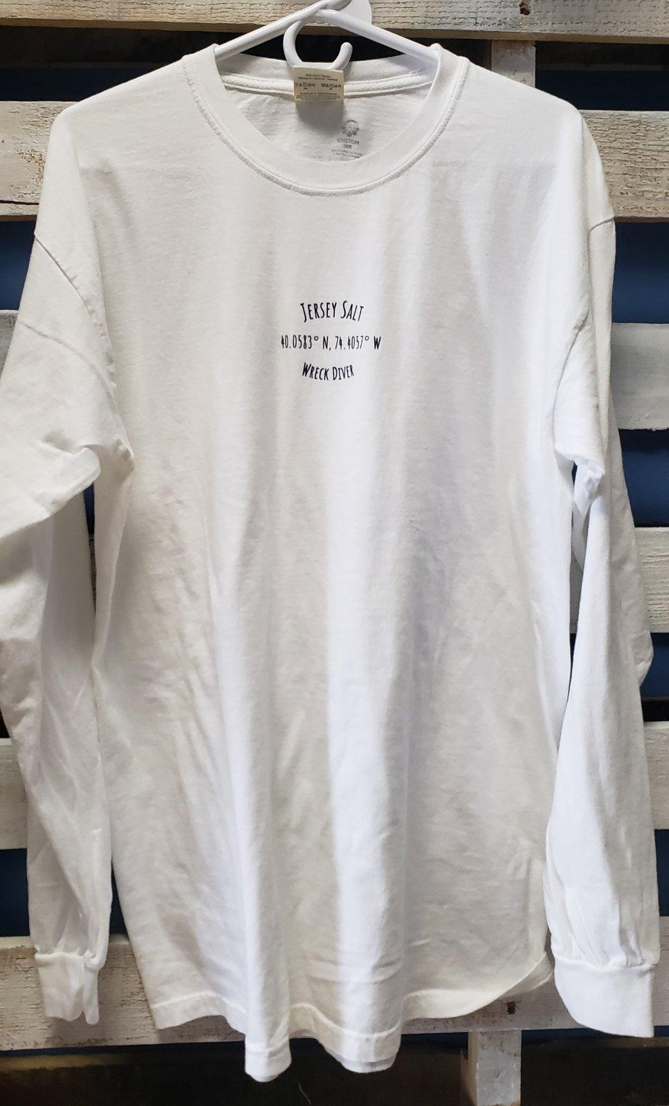 NJ Wreck Diver Long Sleeve T-Shirt