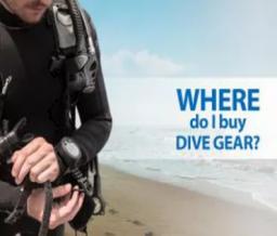 Scuba gear, equipment, online shop