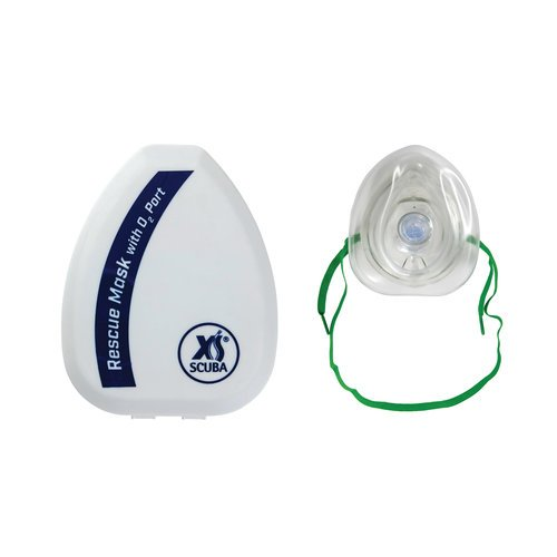 XS Scuba Pocket Mask With Case
