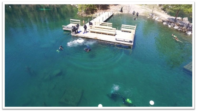 Lake Phoenix Camp and Dive Package