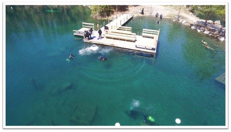 Lake Phoenix Dive Package - NO CAMPING