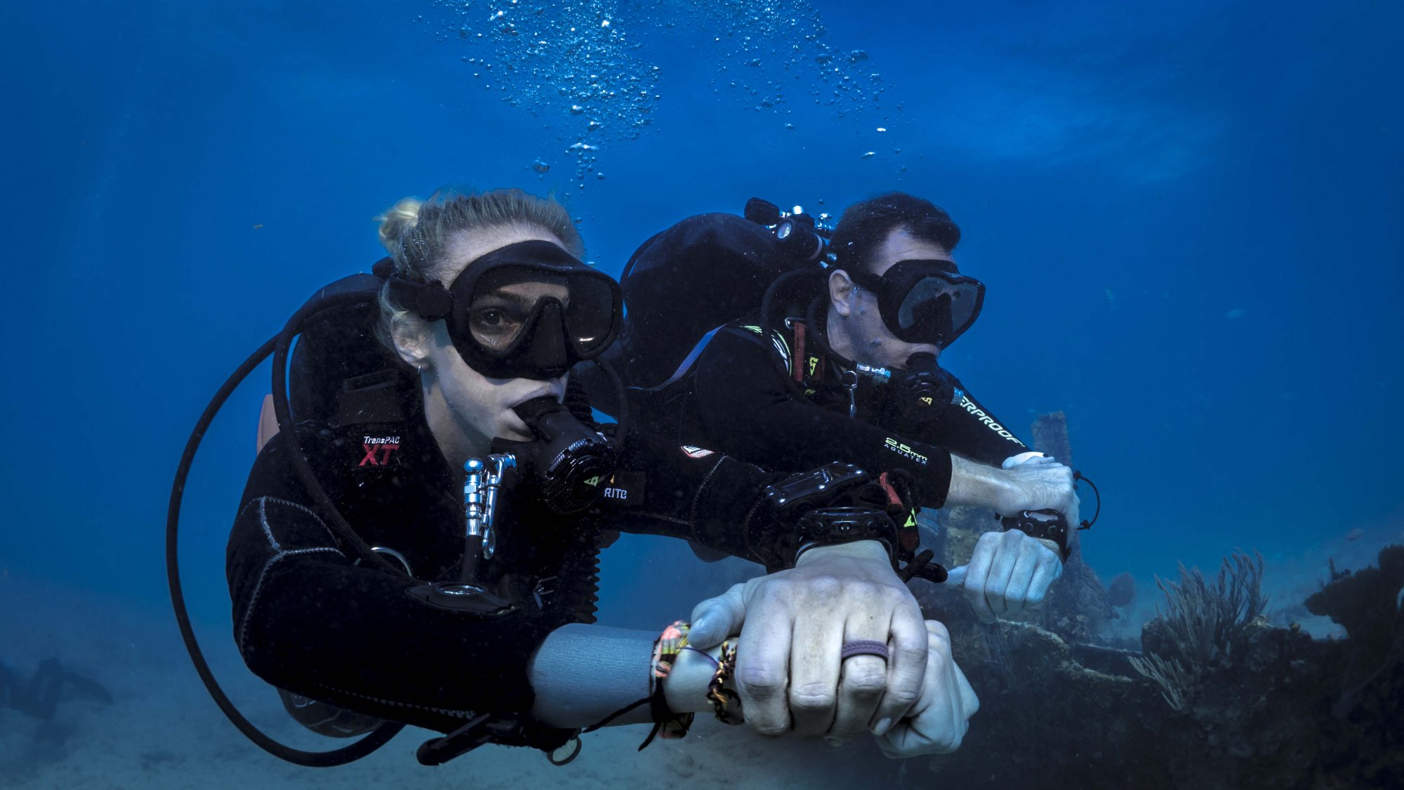 become a dive professional