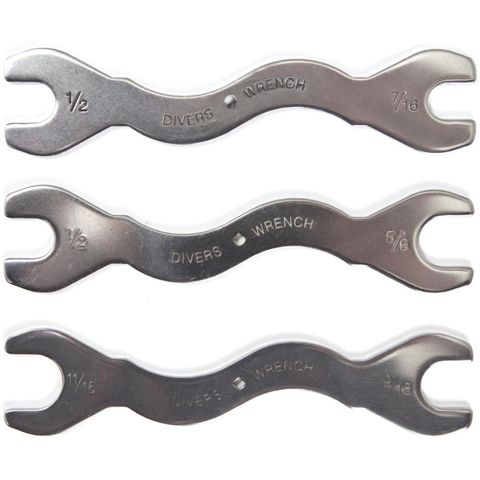 Trident 3 Piece Wrench Set