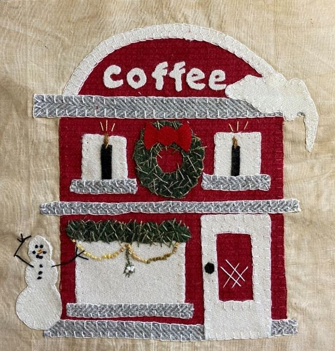 SOLD OUT - Coffee House Block KIT & PRINTED PATTERN