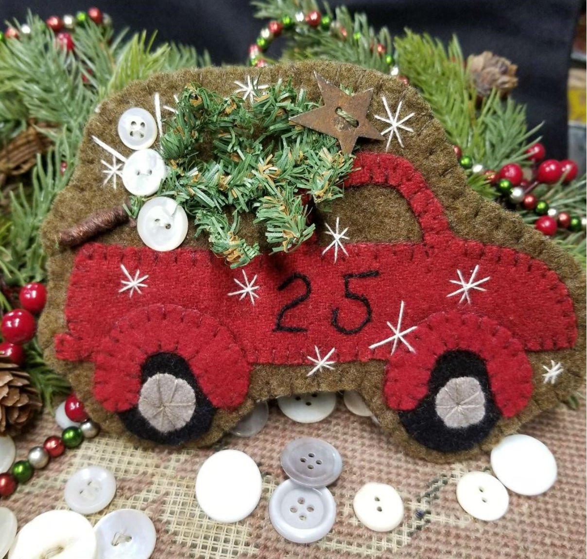 Santa's Delivery Truck e-pattern