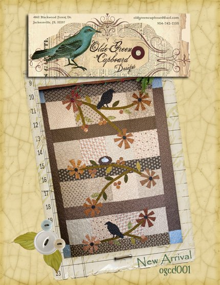 New Arrival Quilt Pattern - OGCD001