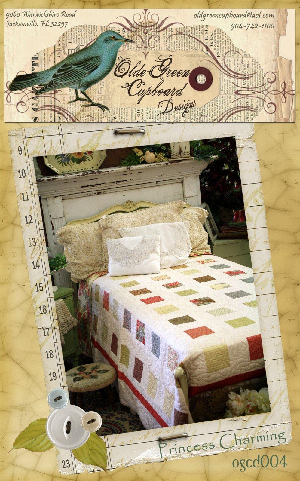 Princess Charming Quilt Pattern - OGCD004