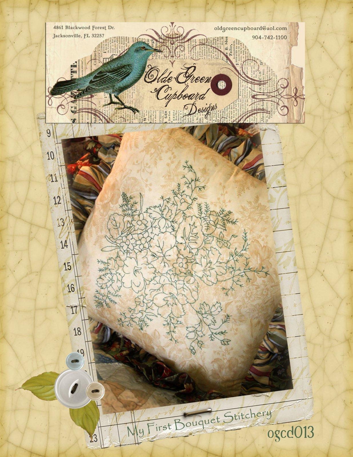 My First Bouquet Stitchery Pattern - OGCD013