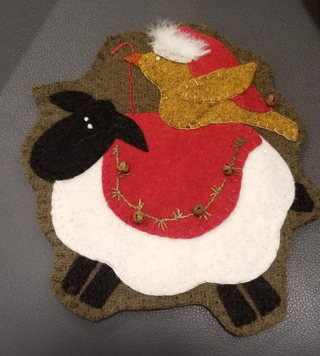 Warm in the Meadow Wool Tree Ornament Kit