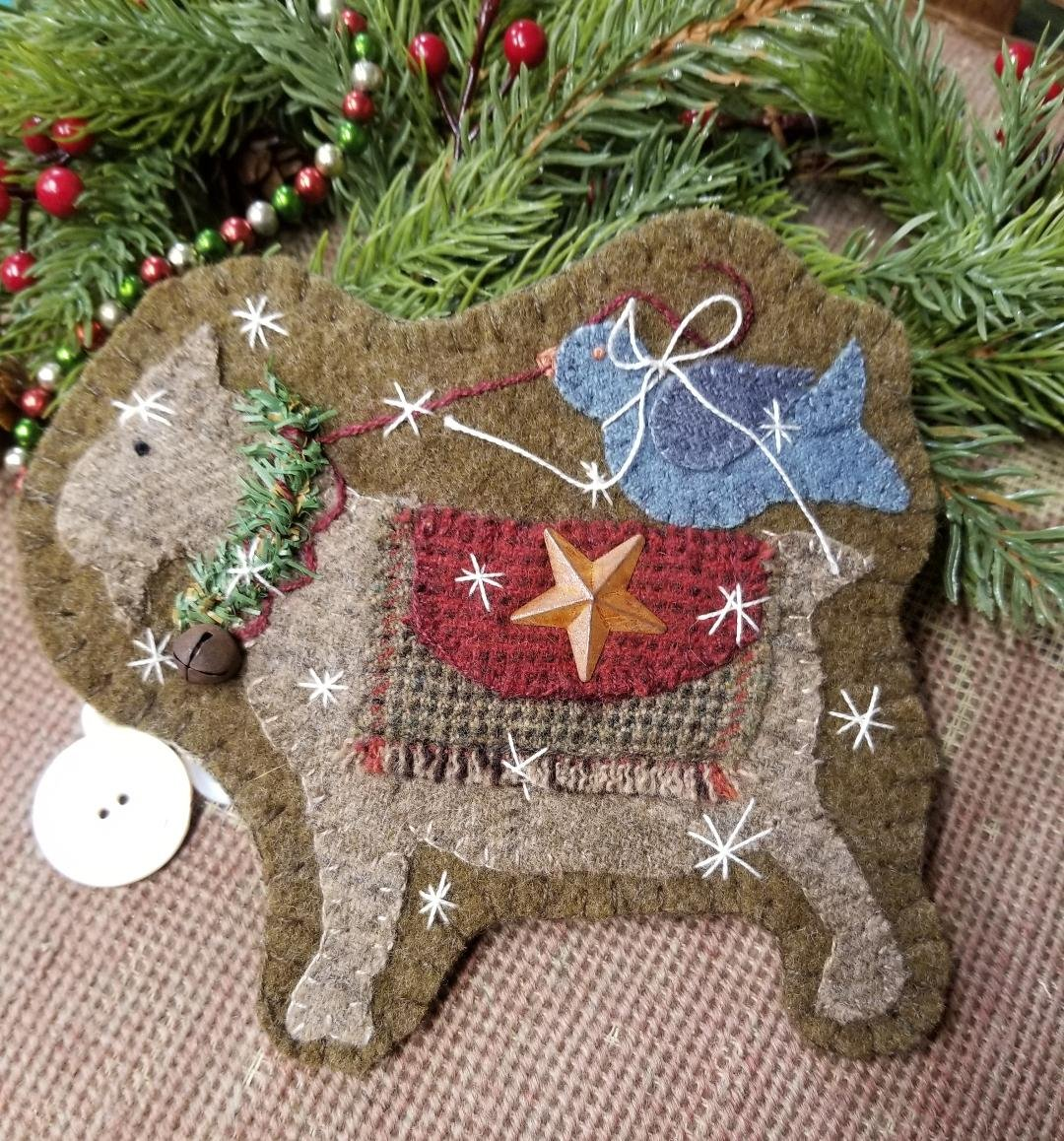 Let's Be Christmas Friends e-pattern