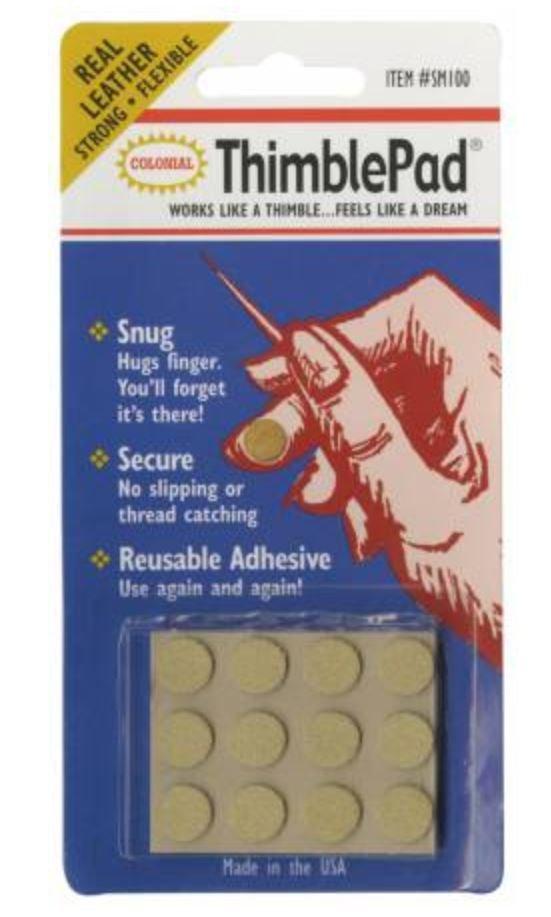 Thimblepad Leather Adhesive Thimble