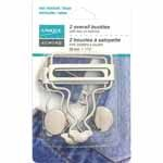 UNIQUE SEWING Overall Buckle - 38mm (11/2) - 2 pcs (silver)(gold)
