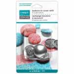 UNIQUE SEWING Buttons to Cover Refill - size 36 - 23mm (7/8) - 4 sets
