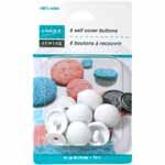 UNIQUE SEWING Buttons to Cover - Nylon - size 30 - 18mm (3/4) - 6 sets