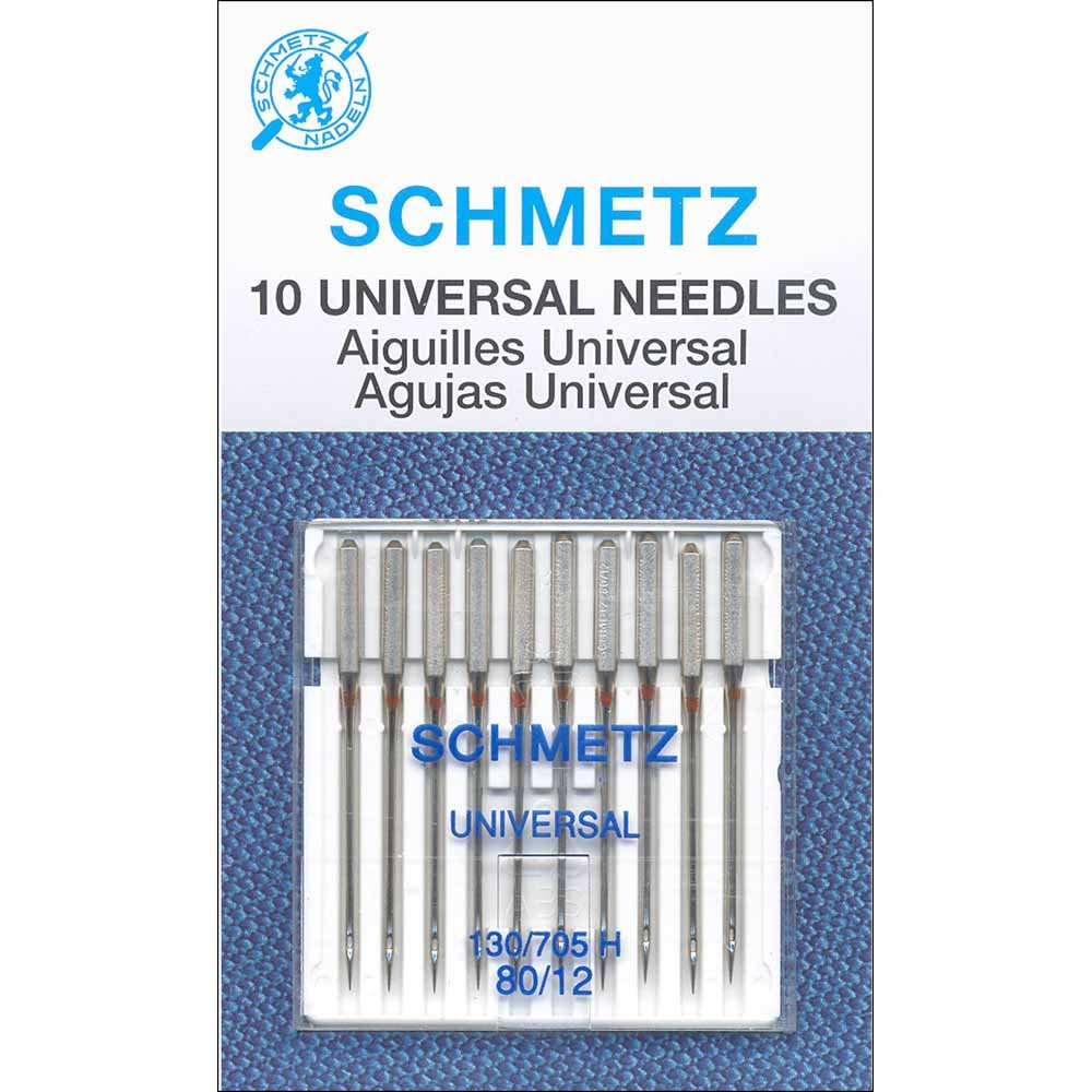 Schmetz Universal 80/12 Needles - 10 pk