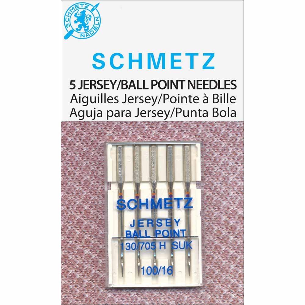 Schmetz Ballpoint/Jersey Needles- 5pk