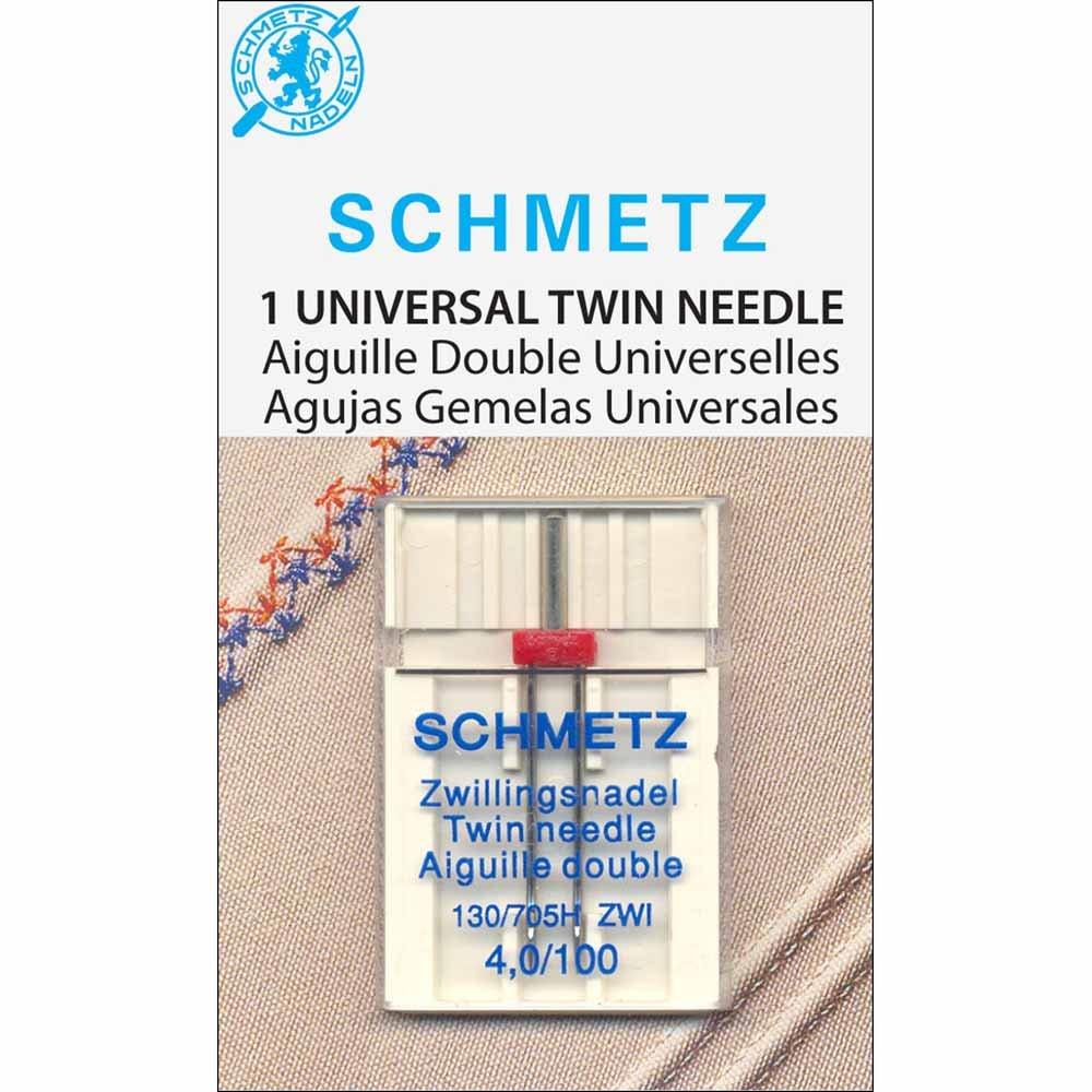 Schmetz Twin 100/16 Needles - 1 pk