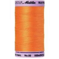 Mettler Silk Finish Cotton 547 yds  0122 - Pumpkin