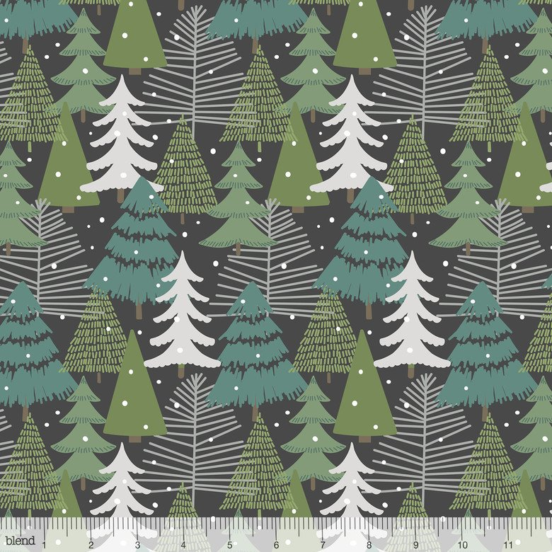 Babules Boughs - Winter Wonderland Grey
