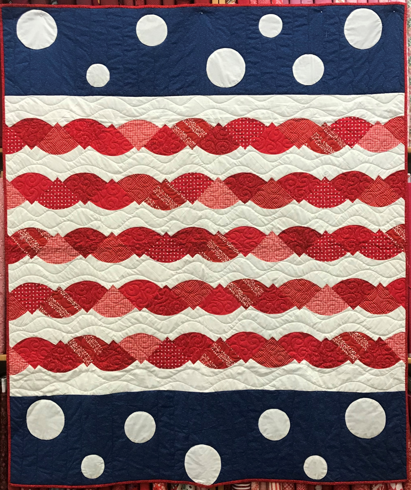 4th of July Quilt 61'x53'