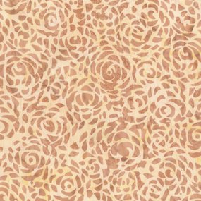Batik - Abstract Rose - Extra Wide