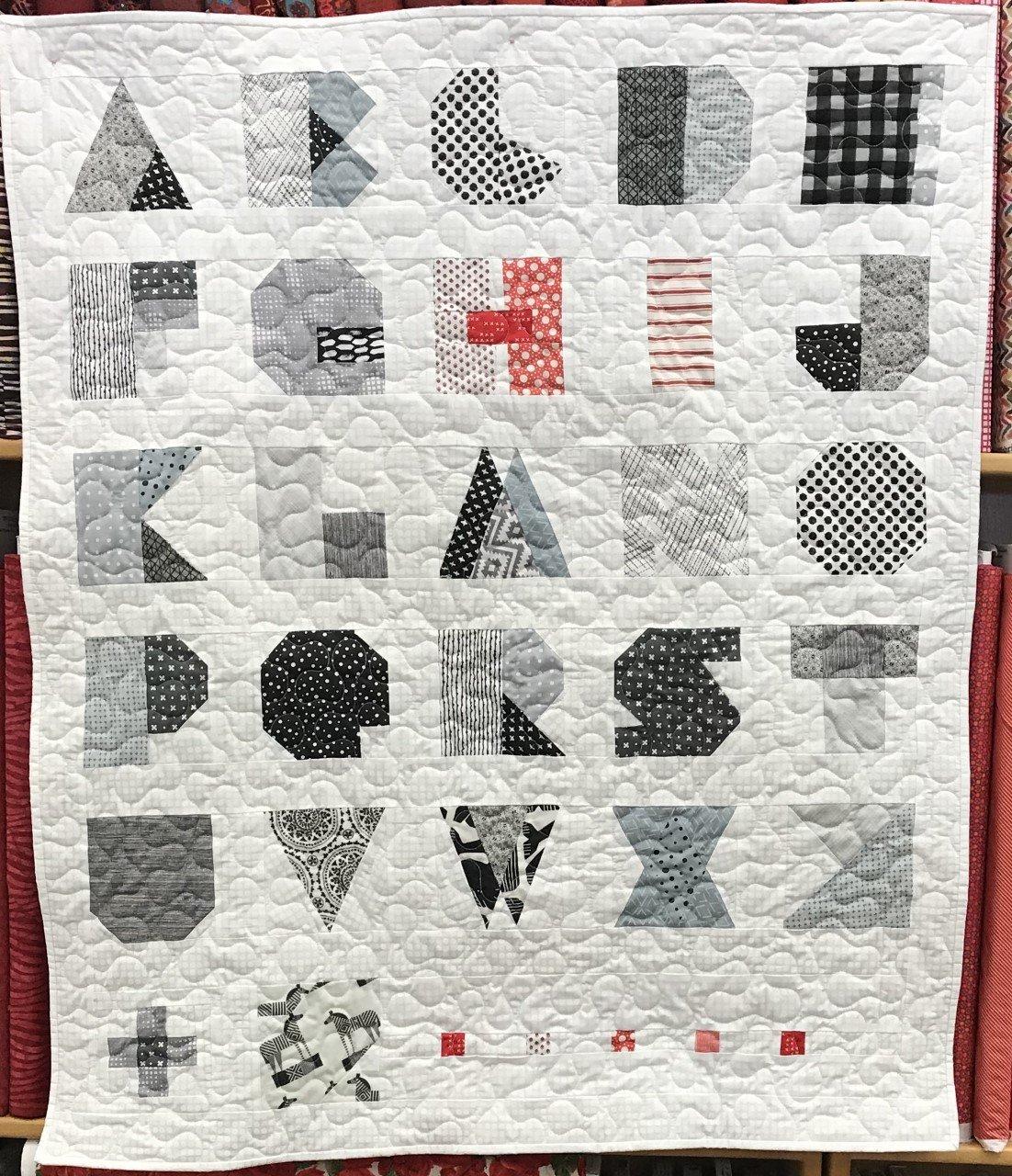 Alphabet Quilt 37'x43